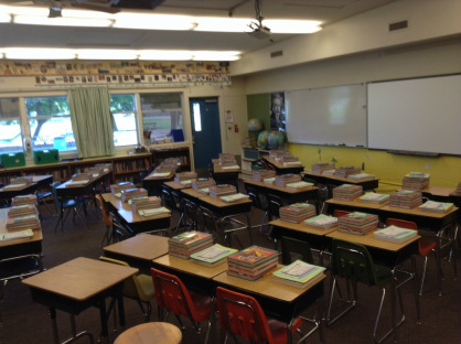 First Day Desks